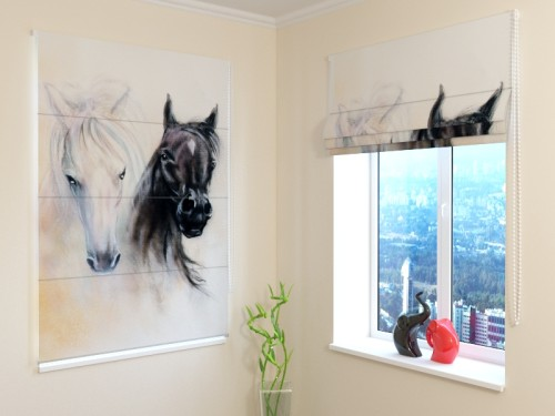 "Romanetė ""African Horses"""