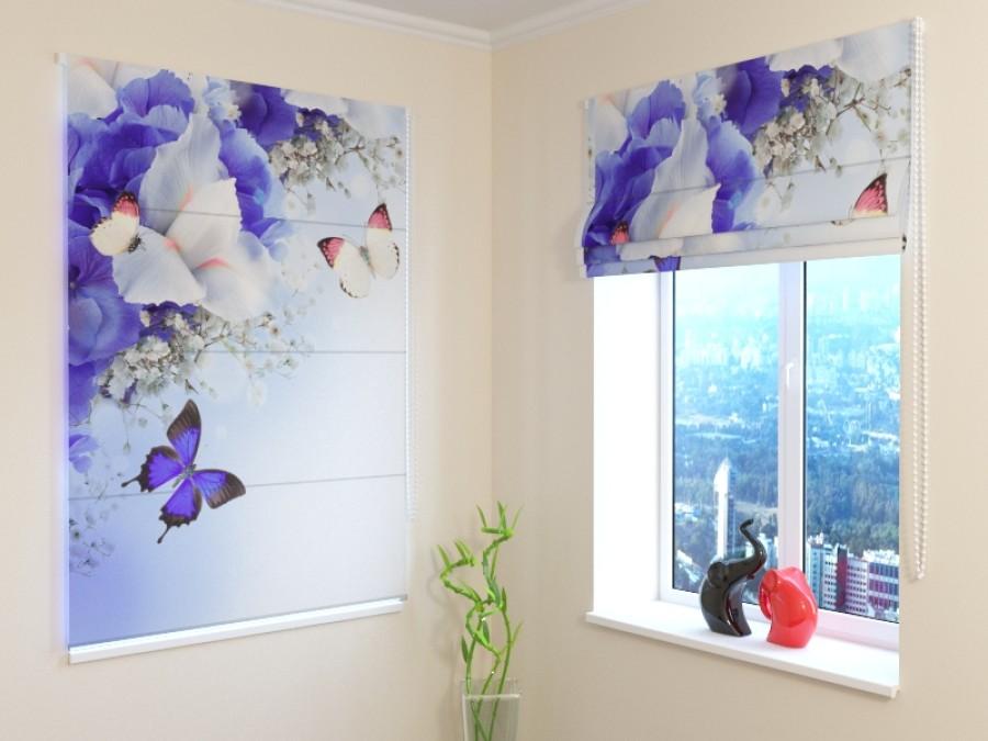 """Romanetė """" Blue Irises"""""""
