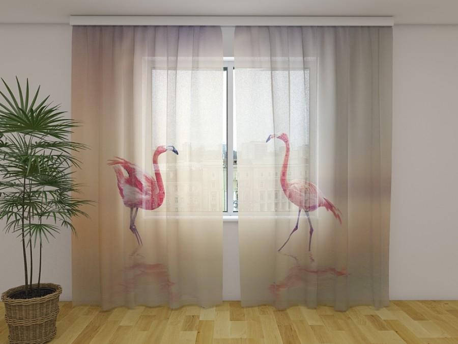 """Dieninė  užuolaida """"Flamingas"""""""