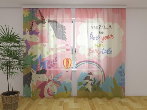 Dieninė užuolaida vaikiška Your Own Fairy Tale