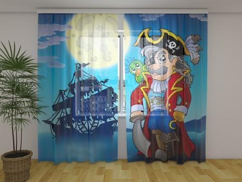 """Dieninė užuolaida vaikiška """"Piratas"""""""