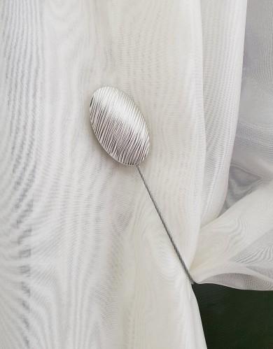 "Magnetinis laikiklis ""Ovalus sidabras"""
