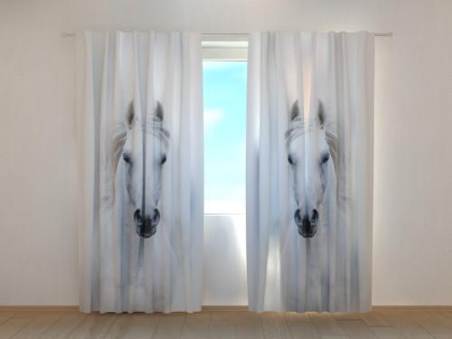 """Naktinės užuolaidos """"Balti arkliai"""""""