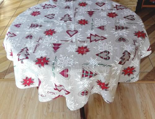 Kaledinė staltiesė merry christmas
